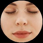 Korekcia vrások pri koreni nosa
